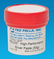PELCO® High Performance Silver Paste for ultra high vacuum 16047