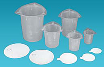 Tri-Stir Disposable Plastic Beakers