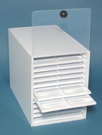 Microscope Slide Boxes, Trays, Holders, Mailers, Dispenser, jar