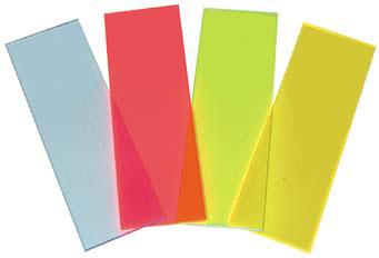 Fluor-Ref Fluorescence Reference Slides