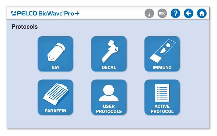 PELCO BioWave® Pro+ Simplified Protocol Selection