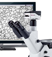 AE2000MET digital documentation trinocular microscope