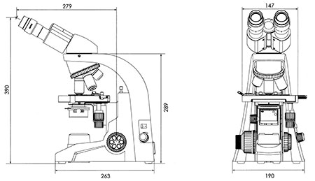 Motic 174 Ba210 Biological Light Microscope