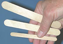 stirring sticks, Depressor sticks, applicator sticks