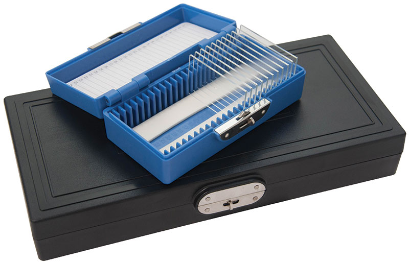 TDC ANSCO Slide Tray Case with 3 Inline Slide Trays fits Bell /& Howell Sears hold 40 slides each Keystone and most others.