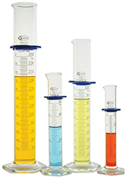 Graduated Cylinders, Glass and Polypropylene