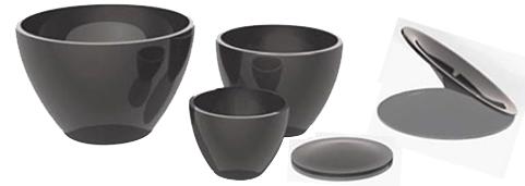 Crucibles Porcelain Platinum Ptfe Stainless Steel