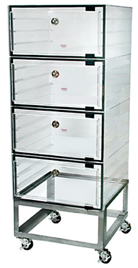 Desiccator Cabinets, Large Capacity, Clear, Amber Transparent