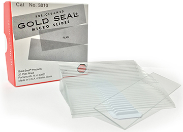 Goldseal Microscope Slides