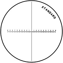 Standard reticle