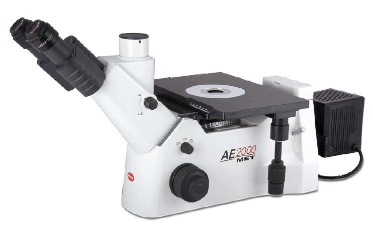 Motic 174 Ae2000met Inverted Metallurgical Microscope