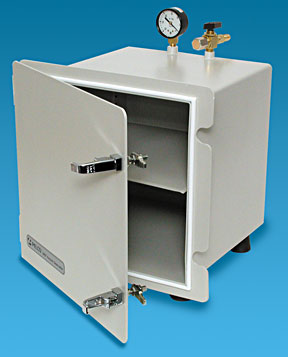 Vacuum Desiccator Cabinet, Stainless Steel Storage with Vacuum Seal
