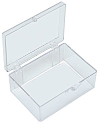 Beau Plastic Storage Box, Rectangular