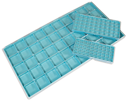 plastic box with 5 compartments