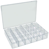 Merveilleux 139 812, Plastic Styrene Box   24 Compartments