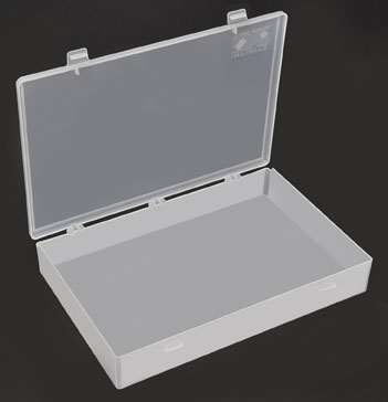 PELCO® Single Compartment Storage Box With Lid