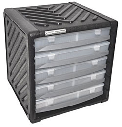 PELCO® 5 Drawer Storage Cabinet
