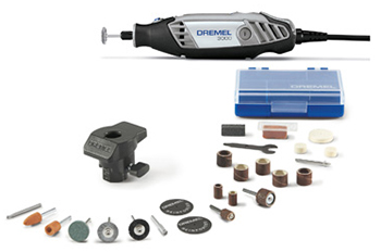 Dremel 3000 1 24 Rotary Tool With Accessories And Storage Case