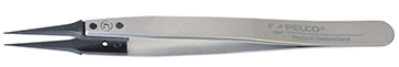 soft tipped carbon tweezer, style 5U