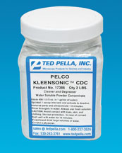 pelco kleensonic cdc ultrasonic cleaning powder concentrate