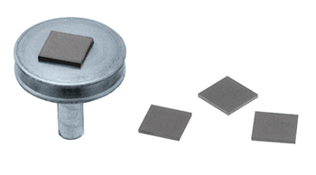 silicon chip supports for scanning electron microscopy