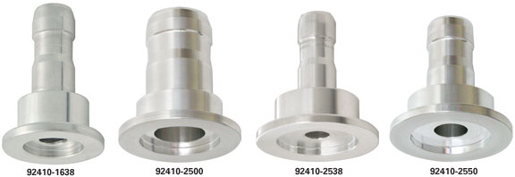 Nw kf hose adapters clamps and vacuum hoses